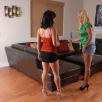 Sexy Cougars Anna Nova, Sienna West & Phoenix Marie Fucks a Lucky Guy 01