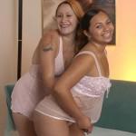 Hot Inter-Racial BBW Lesbian Eating Pussy 04