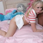 Pigtailed Teeny Ziggy Won't Shut Up Till A Dick's In Her Mouth 04