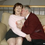 Busty Granny Ivana Spunked Right On Her Old Hairy Pussy 06