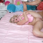 Pigtailed Teeny Ziggy Won't Shut Up Till A Dick's In Her Mouth 10