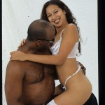 Mystika Dildos Her Hairy Pussy then Gets Fucked By Black Cock 10