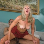 Nasty Granny Anastasia Swallows a Juicy Load of Jizz 07