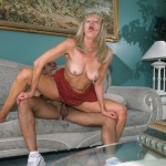 Nasty Granny Anastasia Swallows a Juicy Load of Jizz 11