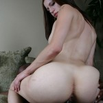 White Girl Capri Puts Her Tongue Piercing To Good Use on Black Cock 12