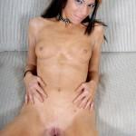 Skinny Skater Chick Tori Masturbates With Blue Dildo 15