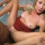 Nasty Granny Anastasia Swallows a Juicy Load of Jizz 15