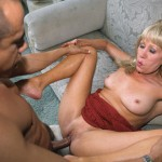 Nasty Granny Anastasia Swallows a Juicy Load of Jizz 17
