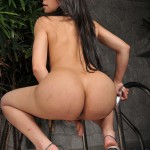 Yummy Latina Shemale Bruna Rodrigues Shows Her Cock & Ass 19