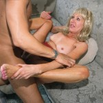 Nasty Granny Anastasia Swallows a Juicy Load of Jizz 21