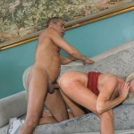 Nasty Granny Anastasia Swallows a Juicy Load of Jizz 22