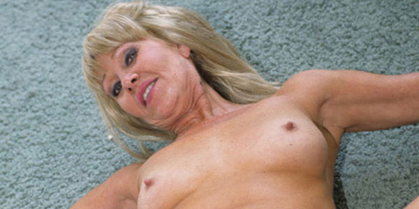 Nasty Granny Anastasia Swallows a Juicy Load of Jizz