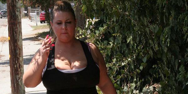 Big Boned Slut Hillary Hooters Exercises With Sex
